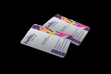 Plastic Business Card Printing Helloprint