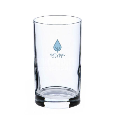 A 21 cl water glass available with customised printing options for a cheap price at Helloprint