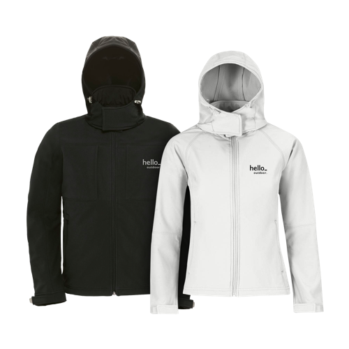 staande Luxury Softshell Jacket