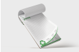 Opt for sustainable printing with notepads made of recycled paper material - available online at stopandprint.it