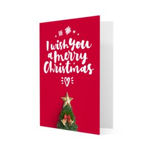 Christmas cards personalisation
