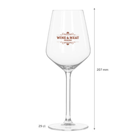 A reisling White Wine Glass available with custom printing solutions for a cheap price at Helloprint