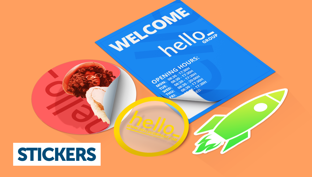 Best Quality Custom Full Colour Printed Stickers//Labels Cut To Any Shape Size