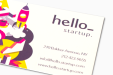 Cheap Standard Business Card Printing all over the UK | Free delivery and 100% satisfaction guarantee for all personalised business cards with Drukzo