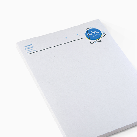 Cheap letterheads in recycled paper with Drukzo. Learn more about us and order print online.