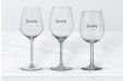 Personalise your wine glasses for the Christmas and New Year celebration