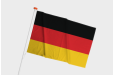 Print your Deutschland flag online now with Helloprint