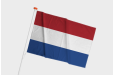 Print your Nederland flag online now with iDrukker.nl