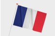 Print your France flag online now with espace-com.com