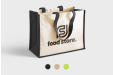 Get your own custom half cotton half jute bags printed online with Helloprint