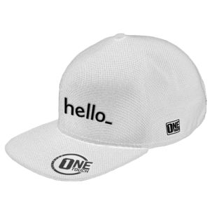 Seamless Snapback Cap with logo