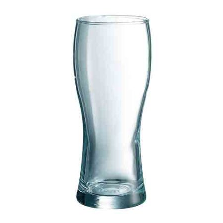 A 32 cl beer glass available with a personal logo or image printed on the side at Helloprint