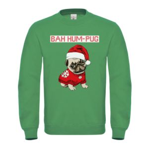 Ugly Christmas Sweater with Pug design
