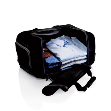 Lightweight Weekend Trolley Bag Compartments, available at Helloprint