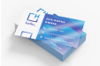 Print laminated business cards online at simpleprint.be
