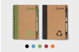 Respect the environment by printing your logo on ecofriendly notebooks - available online at Helloprint