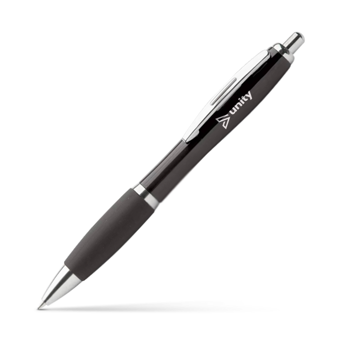 Image of a customisable pen, perfect for promotional events.