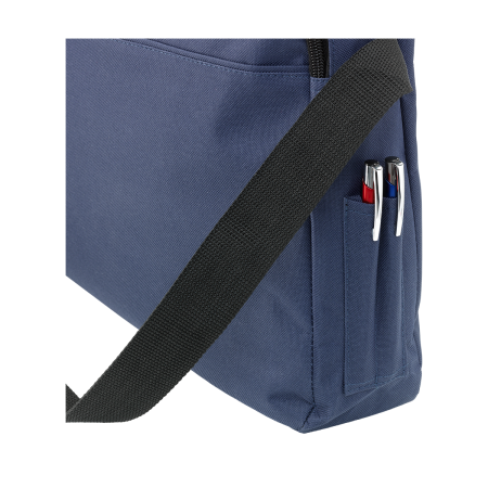 A pen pocket of a Metro document bag available at Helloprint with custom printing options for a cheap price