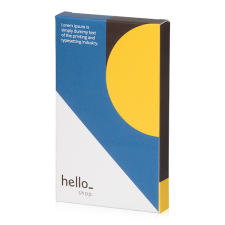 Print custom boxes with flap with 1-2-3 bottom at Helloprint to impress customers