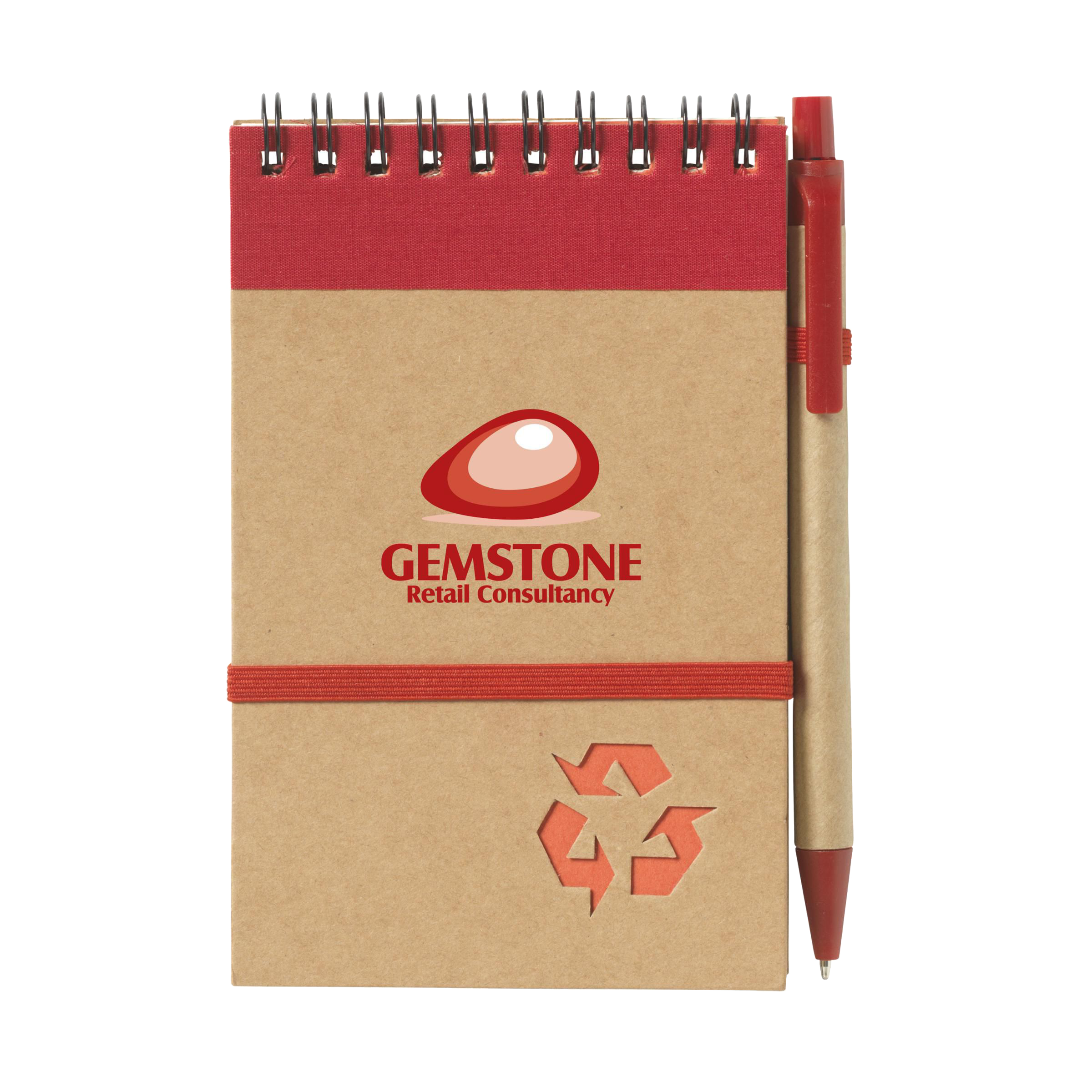Recycled Notebook - Medium Size