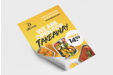 Poster with for take away service - Print posters online with Helloprint