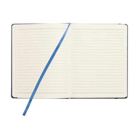 An open pocket notebook available with customised printing solutions for a cheap price at Helloprint