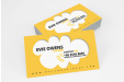 Custom printed standard business cards available at Helloprint