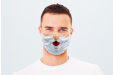 Santa printed face mask to celebrate Christmas in a fun way - Helloprint