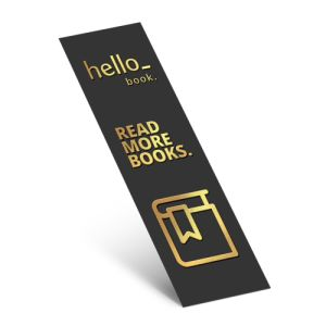 Bookmarks with silver foil paper finish, available at Helloprint