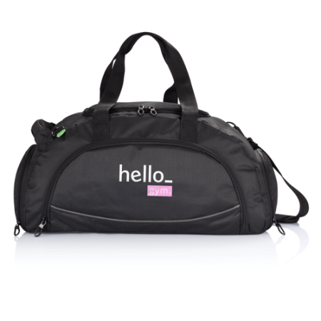Personalised Sports Bag with Shoe Compartment, available at Helloprint