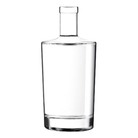 A small 75 cl gladd bottle available at Helloprint with custom printing options for a cheap price