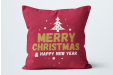 Make your house even more Christmasy with personalised pillows.