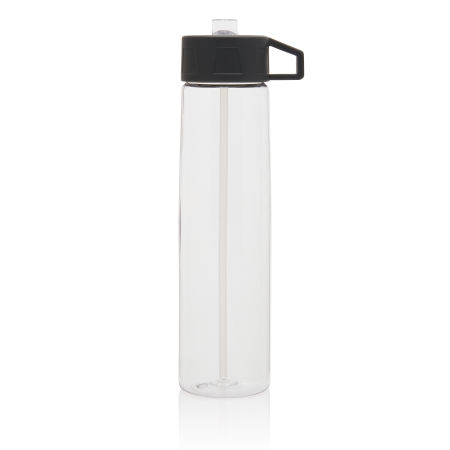 Custom Tritan Bottle with Straw with carrying hook, available at Helloprint