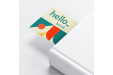 Bookmarks with Off-white coloured paper, available at Helloprint