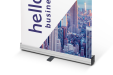Promo roll-up banners