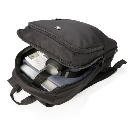 Personalised Business Backpack holding up to 15 litres, available at Helloprint.